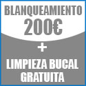 Blanquemiento 200€ con limpieza gratis